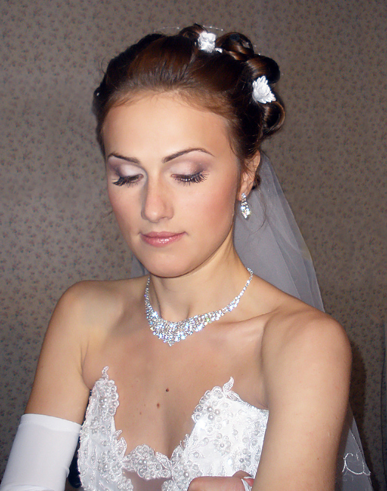 Свадебные прически недорого на дом